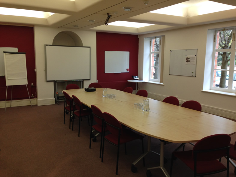 Gilbert Scott Boardroom Hire in Peterborough for up to 30 People